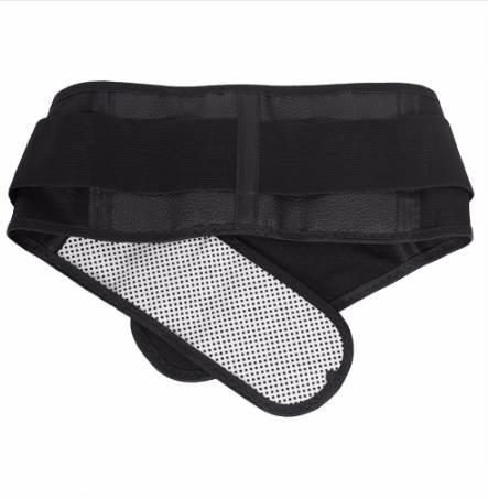 Supporto inferiore inferiore regolabile Tormalina termoautonomo Terapia magnetica termica Cintura in vita Sollievo dal dolore Terapia lombare Back Brace