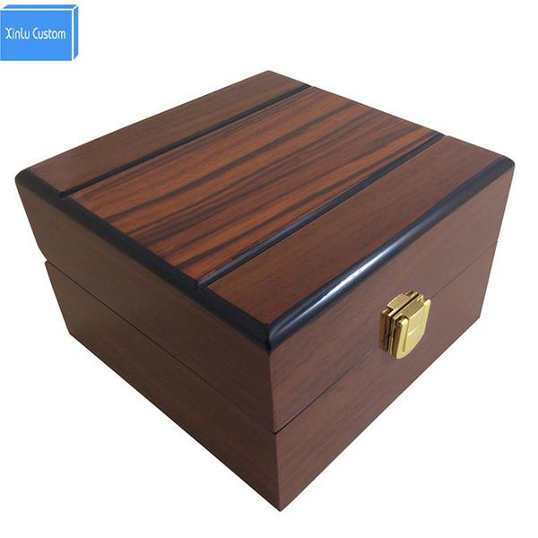 Verwendbar für hochwertigen hölzernen Soem-kundenspezifischen Uhrkasten, Porzellanverpackungskästen liefern Koffert montres Verpackungskasten-Gewohnheitseinzelteil