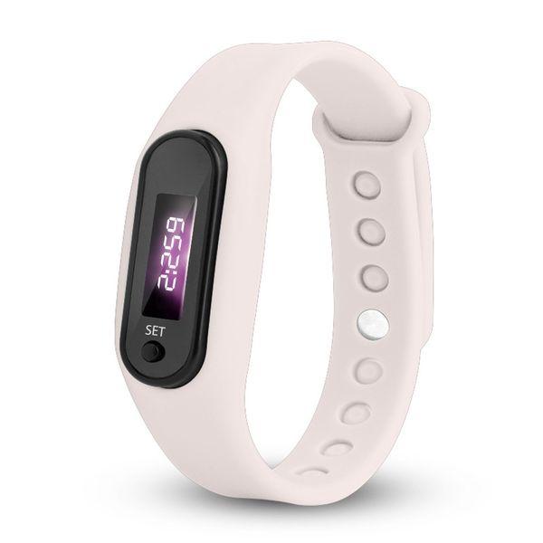 Run Step Watch Bracelet Pedometer Calorie Counter Digital LED Walking Distance electronic wrist watches wrist watch man