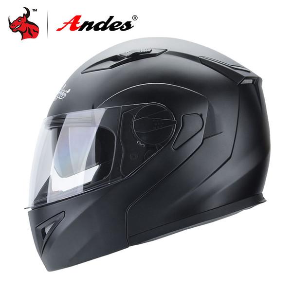 Andes Capacete Da Motocicleta Capacetes de Moto Rosto Cheio Da Motocicleta Scooter Unisex Motociclista Casco Moto Capacetes Com Anti-nevoeiro Viseira