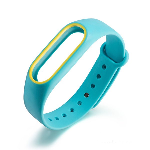 Bracelet for xiaomi mi band 2 Strap Silicone Strap mi band 2 Bracelet Wristbands wrist for xiaomi