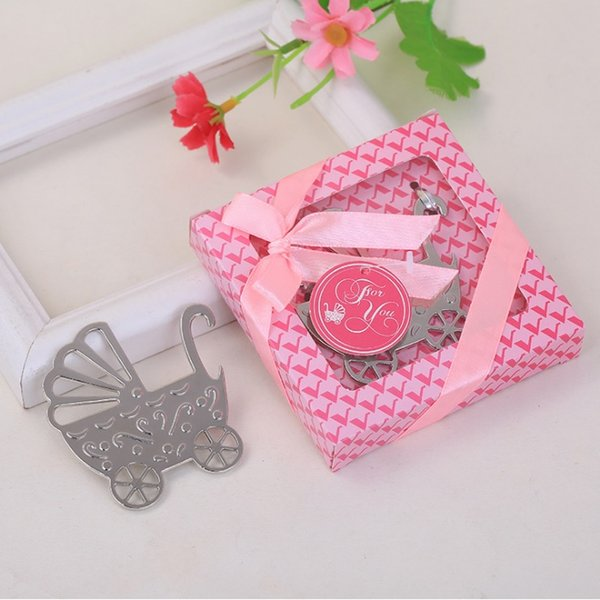 Free Shipping Baby Carriage Bottle Opener Birthday Party Gifts Wedding Baby Shower Christening Baptism Supplies W7363