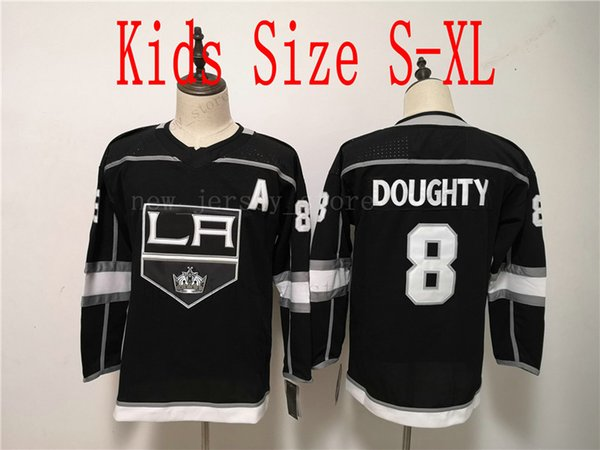 Jugend 8 Drew Doughty Black