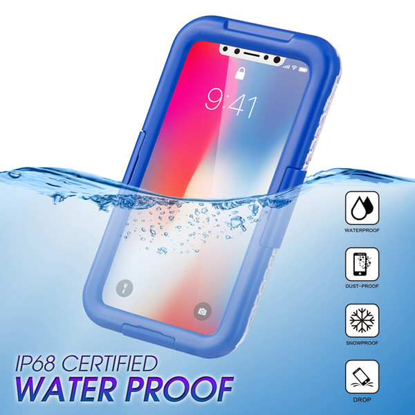 separation shoes 4582a 42bc4 With Retail Box Underwater Waterproof Case For Samsung S8 Plus S6 Edge S7  Edge Cases Swimming Diving Phone Bags For IPhone X 8Plus Customized Cell ...