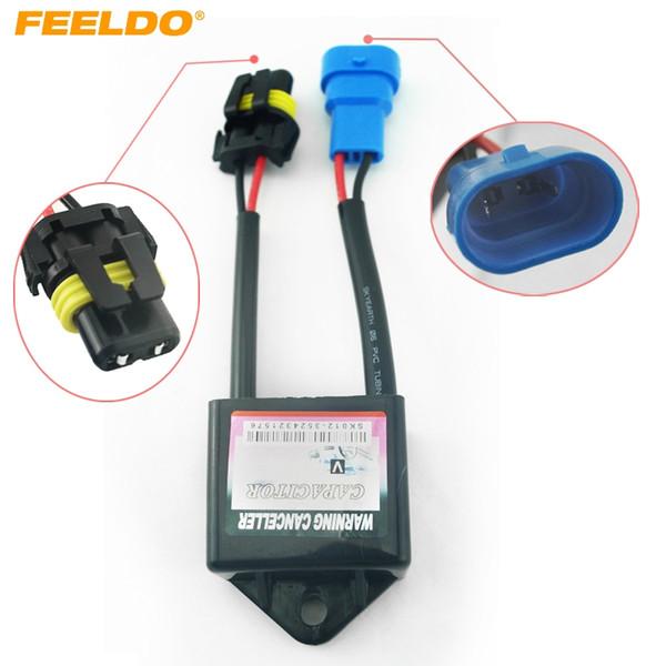 2019 FEELDO Car Xenon HID Kit Anti Flicker Error Warning Canceller on