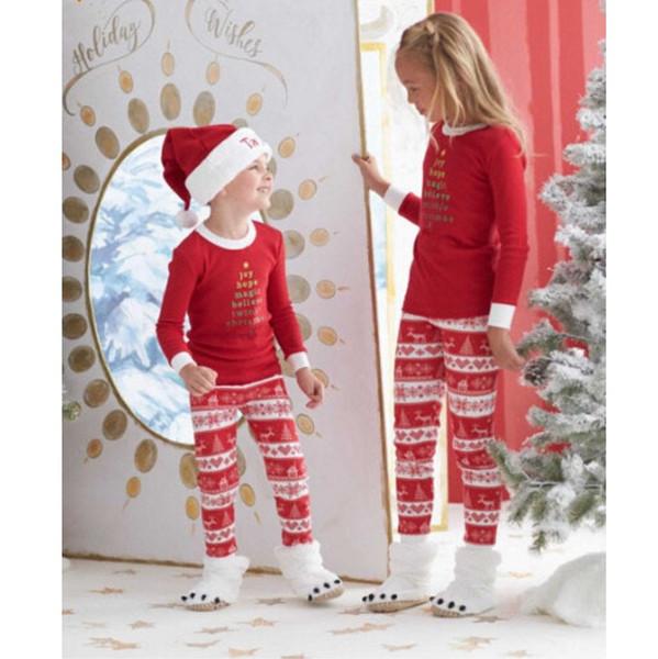 Pas cher Noël Cosplay Parent Enfant Tenues Famille Costumes De Noël Pantalon Hiver Chaud Vestes Père Mère Enfants
