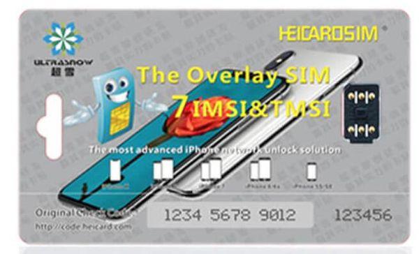 Heicard ICCID Model Unlock For IPhone IOS11 11 3 Unlocking Sim Card Black  Chip 3 5V MEXICO TELCEL AU SB TMOBILE SPRINT ATT DOCOME 4G PERFECT Unlock