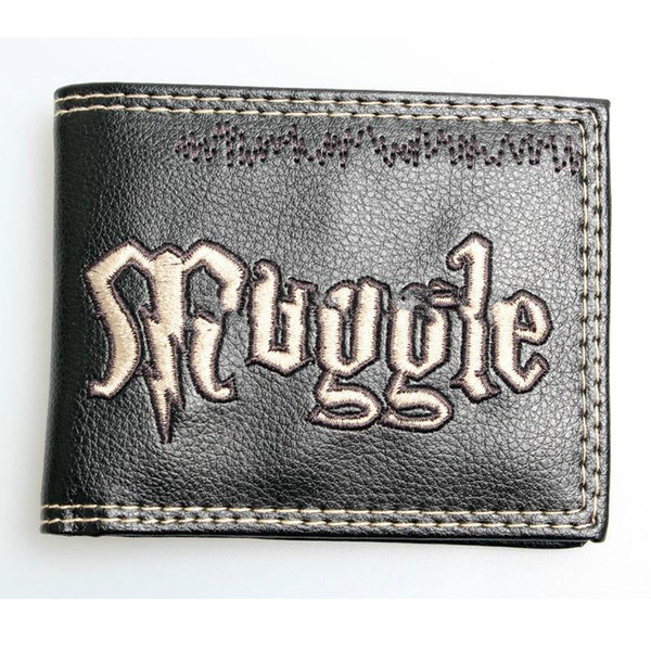 Harry potter wallet Animated cartoon brand purse Young students personality wallet muggle boys and girls purse DFT-1033