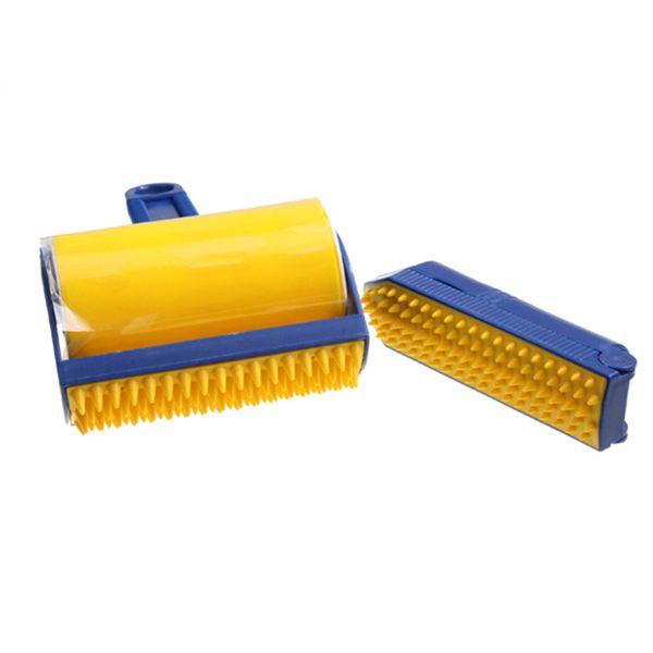 Kullanımlık Yapışkan Buddy Seçici Lint Yapışmasını Rulo Pet Saç Çıkarıcı Fırça Lint Saç Temizleme Fırçası Rulo Giyim Temizleme Araçları