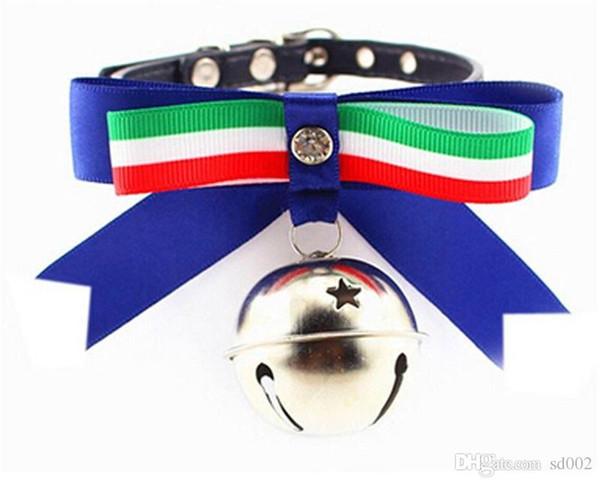 Heimtierbedarf Hundehalsbänder Sicherheit neue Muster Mode tragbare Halskette große Bow Star Tie Necklet praktische können wählen 3 8 he cc