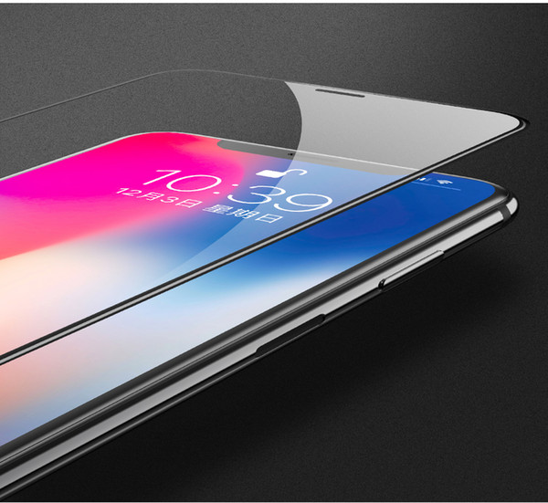 Tempered Glass Film Screen Protector for Apple iPhone X Protective Full Cover for Touch Screen Protection for iPhone 10