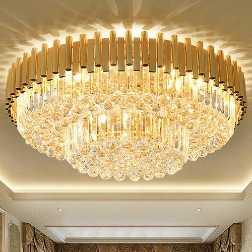 New ceiling chandeliers post-modern design luxury noble fancy high end K9 crystal chandelier hotel lobby stairs villa led chandeliers lights