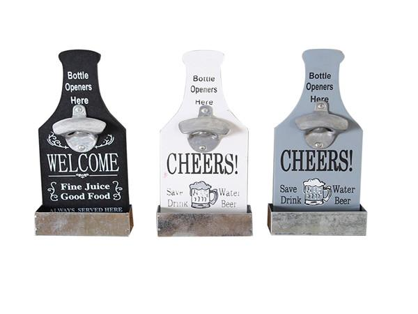 Wall Beer Bottle Opener Decoration CleverPractical Coffee Shop Bar Barbecue Hot Pot Restaurant Pendant Wall Decoration