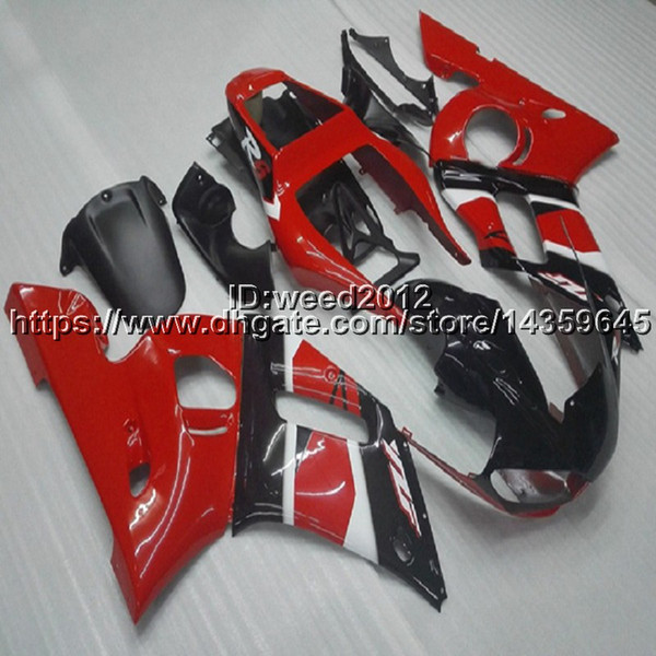 23colors+5Gifts manufacturer customize Full fairing kits for Yamaha YZF R6 1998 1999 2000 2001 2002 YZF-R6 motorcycle Fairing