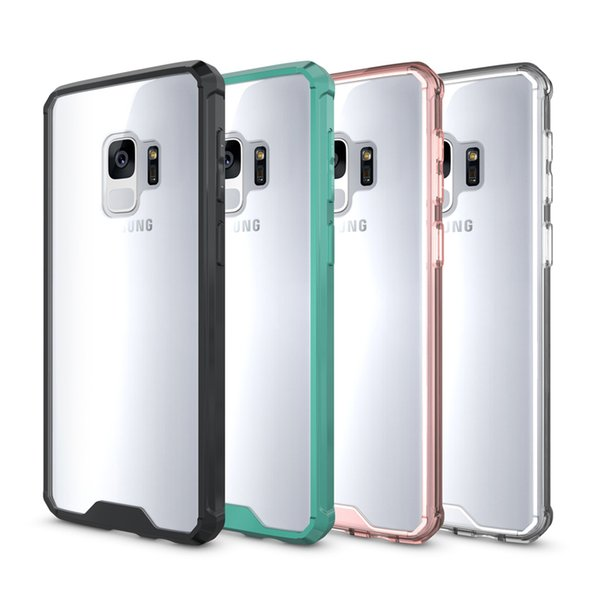 New Arrival For Samsung S9 Case Clear Hybrid Soft TPU Bumper Back Cover Case For Samsung S9 S9 plus Anti-knock Cell Phone Case