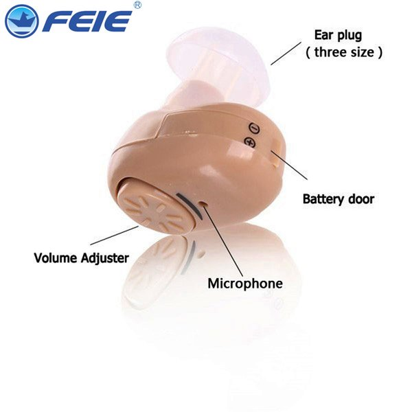 2019 Feie Hot Sales Hearing Aids invisible mini hearing aid china suppliers in the ear care products s-215 sound amplifier drop shipping