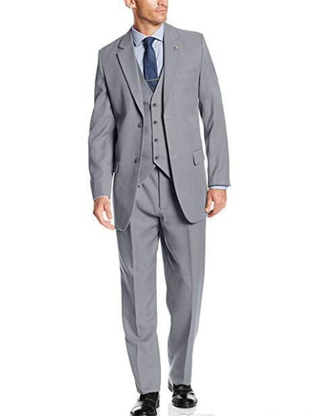 Stacy Adams Men's Big & Tall Sunny Vested Three-Piece Suit Men's Suits Formal Occasion Wear Wedding Tuxedos