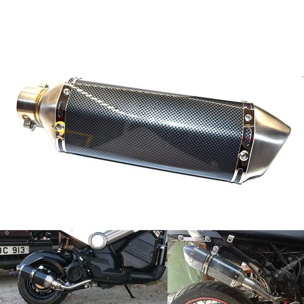 For Universal Muffler Exhaust Motorcycle Exhaust Pipe Akrapovic Edit Motorcycle Exhaust Muffler For Suzuki Yamaha ATV Dirt Bike