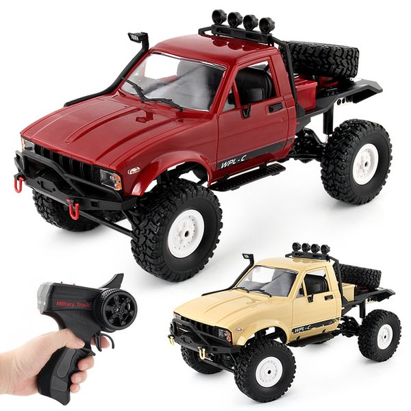 2.4G 4WD 15KM/h High Speed Cars Electric RTR Off-road Buggy Monstre RC Racing Car Vehicle Toys Four-wheel drive interlocking climbing cars