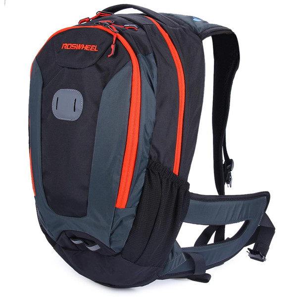 ROSWHEEL 18L Outdoor Sport Cycling Backpack MTB Climbing Hiking Accessories With rain cover, you will not worry about the weather