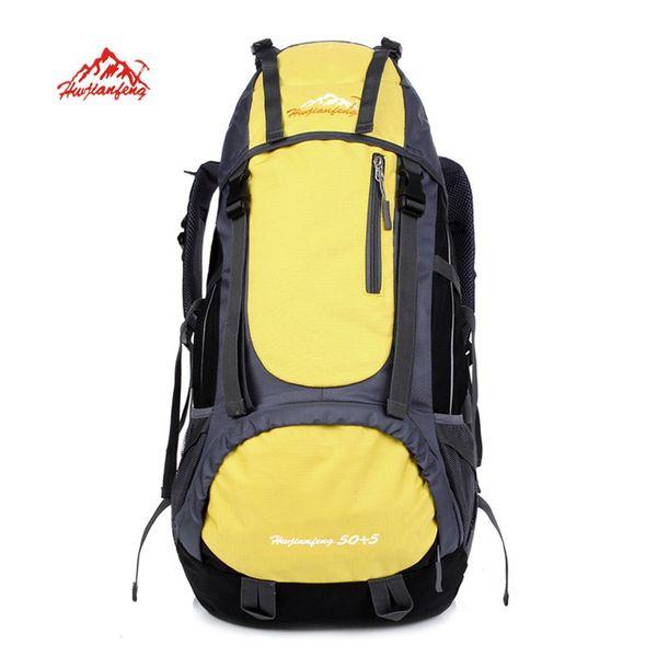 2018 new Mountaineering Backpack Waterproof Nylon Travel Backpack travel bags student bag Multifunction High capacity