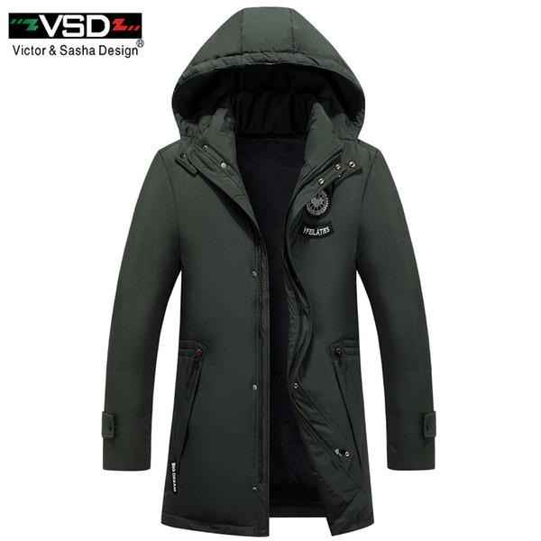 VSD Marke 2018 Cotton-Padded Kleidung Lässige Herren Jacken Hochwertige Mode Herbst Winter Mäntel Outwear Jacke Parkas VS905