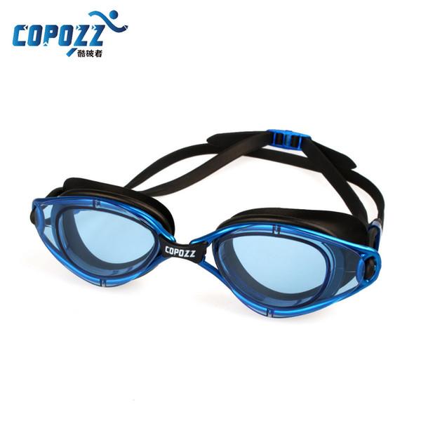 Gafas de natación Gafas de silicona impermeables antiniebla Hombres Mujeres Gafas de natación Gafas de natación impermeables Gafas de natación de silicona