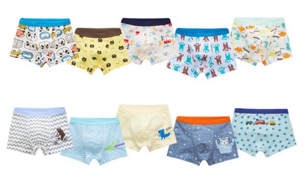 Kids Baby Boys cartoon Cotton Underwear children's underwear cotton boy's underwear boys' boxer briefs Toddler