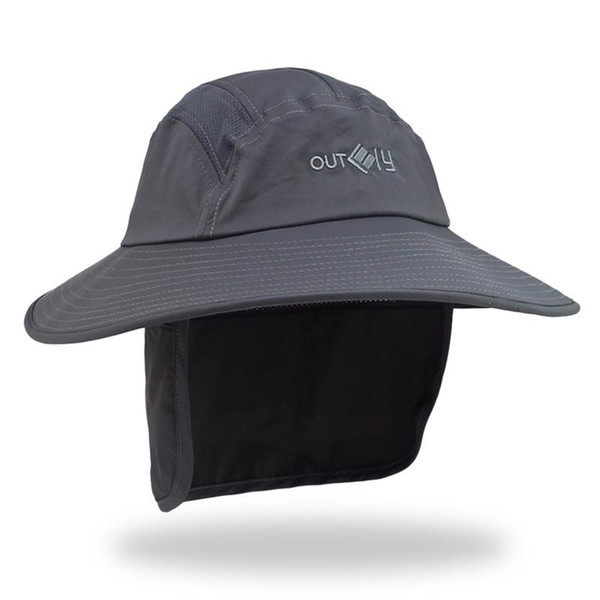 Outdoor Sport Hiking Camping Visor Hat Uv Protection Face Outdoor Solid Color Hat Fishing Sun Protcet Cotton Cap C51