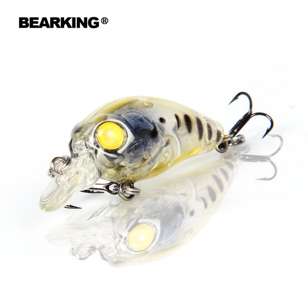 Beaeking 5Pcs/Lot Fishing Lures Assorted Colors Crank 35Mm 3.5G Dive 1M Professional Hard Fish Baits Hot Models Free Shipping