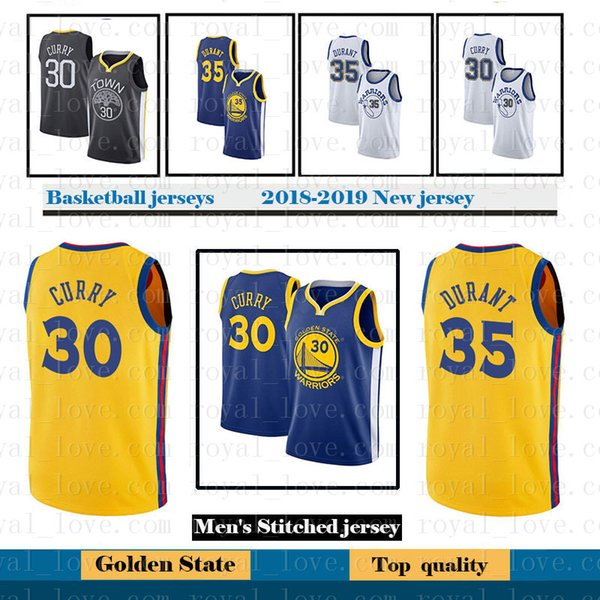 cce33374a 30 Stephen Curry Mens Golden State 35 Kevin Durant Warriors jersey 23  Draymond Green 11 Klay Thompson 9 Andre lguodala Stitched Jerseys