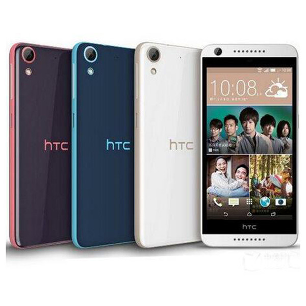 Refurbished Original HTC Desire 626 4G LTE 5.0 inch Octa Core 2GB RAM 16GB ROM 13MP Camera Android Smart Mobile Phone Free DHL 5pcs