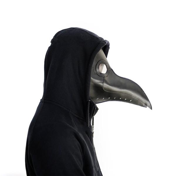 Masques d'Halloween Fantaisie Rétro Peste Docteur Beak Masque Visage Masquerade Articles De Fête Décorations d'Halloween Vente Chaude 37cl gg