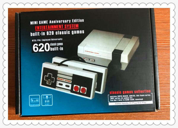 TV Handheld Game Console Мини-консоль для видеоигр для NES Windows PC Mac с играми с коробкой.