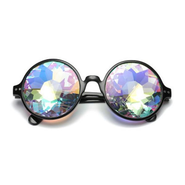 7a783934ac Galaxie Eastar Verre En Cristal Kaléidoscope Verres Ronds Prom Night Club  Party Accessoire De Mode Polygon