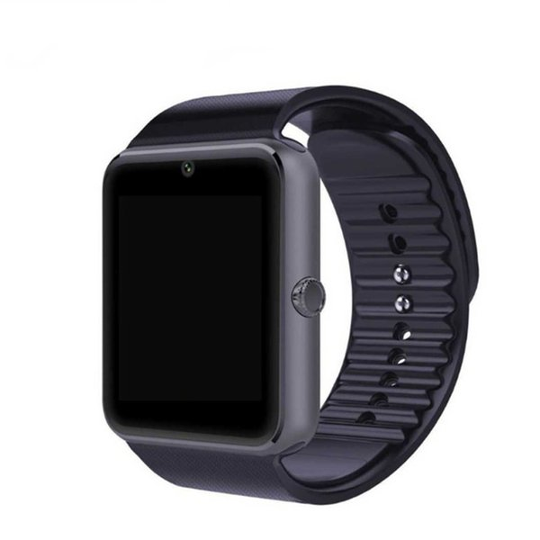 QAQFIT Bluetooth Smart Watch GT08 For  iphone IOS Android Phone Wrist Wear Support Sync smart clock Sim Card PK DZ09 GV18