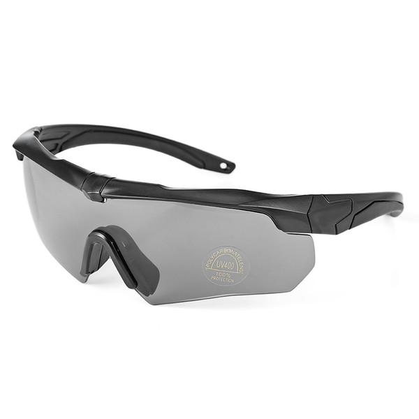 Gafas de sol de ciclismo a prueba de viento Gafas para bicicleta Set de gafas con caja Deportes al aire libre Antipolvo Gafas de sol para bicicleta de bicicleta a prueba de viento Gafas Gafas