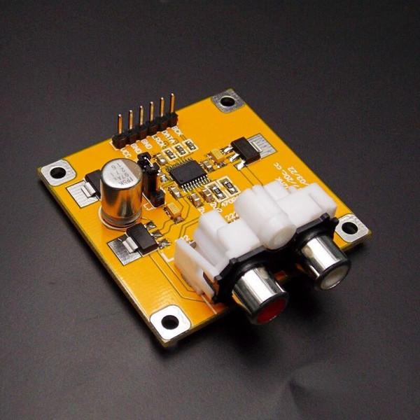 Freeshipping PCM5102 DAC Decoder I2S Player Assembled Board 32Bit 384K Beyond ES9023 PCM1794 compatible Raspberry Pi