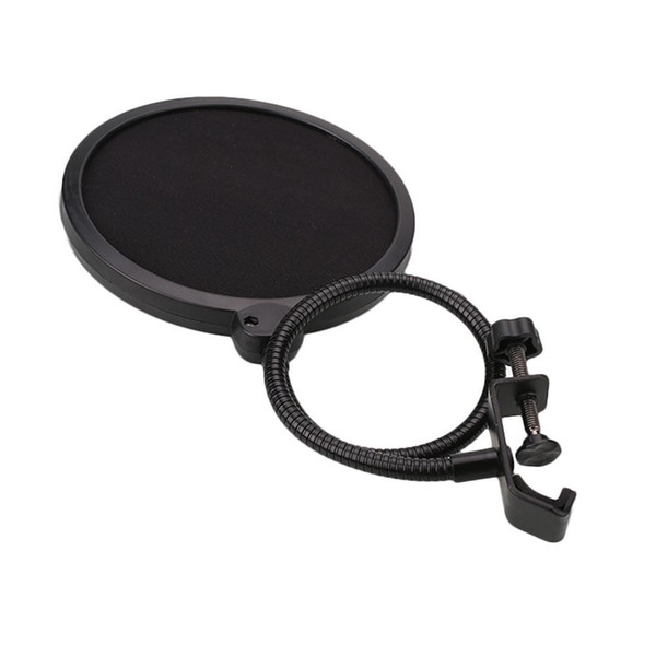Black New Flexible Microphone Windshield Mic Pop Filter Shield Cover For Speaking Accessories