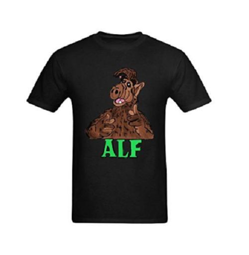 Die Alf-Cartoon-Bild-T-Stücke der Männer klein