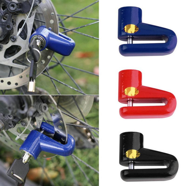 best selling Anti theft Disk Disc Brake Rotor Lock For Scooter Bike Bicycle Motorcycle SafetyLock For Scooter Motorcycle Bicycle Safety
