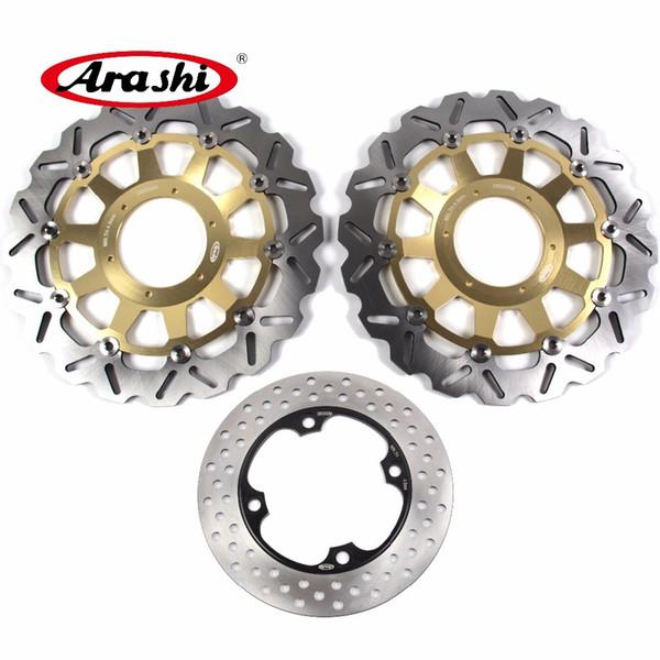 ARASHI For HONDA CBR929RR 2000 2001 Front Rear Brake Disc Rotors Disk CBR 929 RR CBR929 929RR 00 01