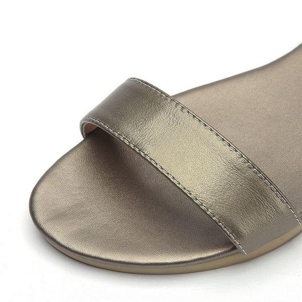 2018 Women Sandals Cow Leather+pu Fashion Women Shoes Platform Buckle Casual Low Heel Black Ladies Sandals Size 34-43