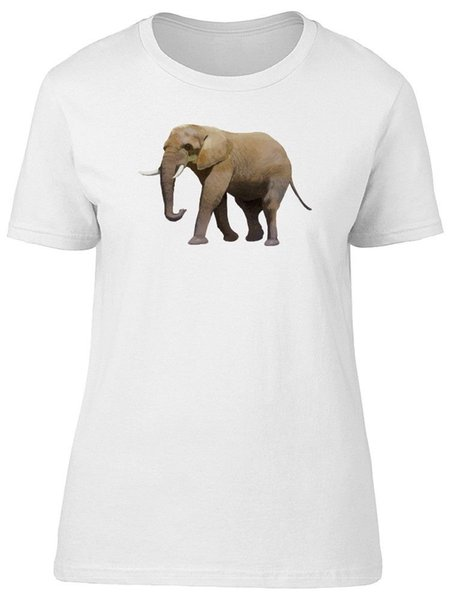 Realistic Elephant, Amazing Women's Tee -Image by Shutterstock