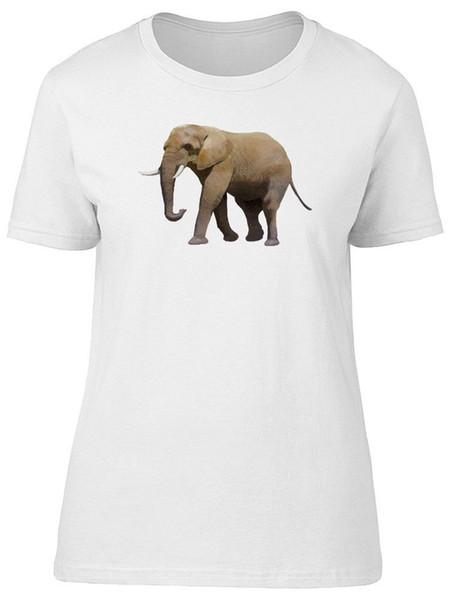 Éléphant réaliste, fabuleux tee-shirt pour femme - Image de Shutterstock