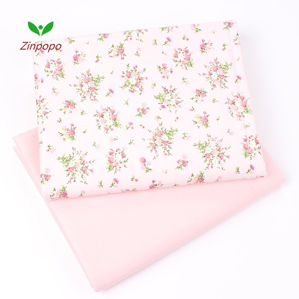 New 2pic/lot 40x50cm Cotton Fabric Christmas gift for Sewing Quilting Patchwork Tissue baby Bedding DIY cloth fabrics K248