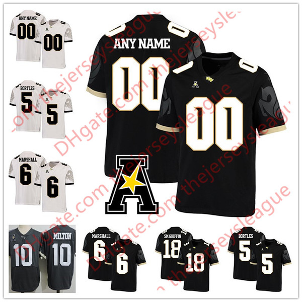 super popular d955c 4a856 2019 Custom NCAA College UCF Knights Stitched Any Name Any Number Jerseys  #10 McKenzie Milton Black White 5 Blake Bortles 6 Brandon Marshall From ...