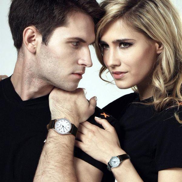 Lvpai Fashion Simple Lovers' Watch Leather Band Watch Casual Couples Quartz Wrist For Women Men Clock bayan kol saati /PY