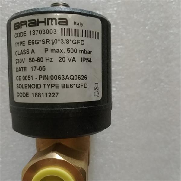 E6G * SR10 * 3/8 * GFD BRAHMASolenoid vana doğal gaz sıvılaştırılmış gaz Gaz kesme vanası brülör13703003