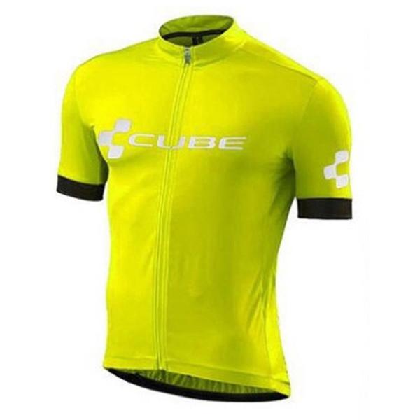 CUBE Equipe 2019 Mens camisa de Ciclismo Ciclismo Outfits Verão de Manga Curta camisa da bicicleta mountain bike tops esportes ao ar livre uniforme Y052302